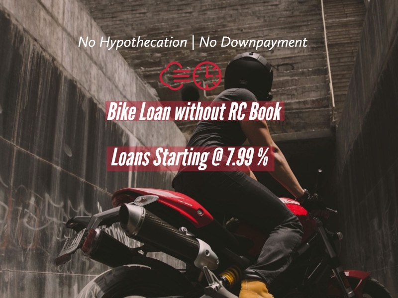 Two wheeler loan without hypothecation