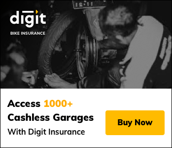 Digit Bike Insurance Cashless Garages