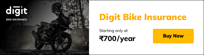 Digit Bike Insurance Starting Price Rs 700