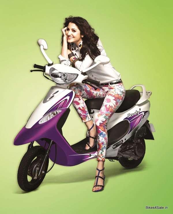 Anushka Sharma The New Brand Ambassador Of Tvs Scooty