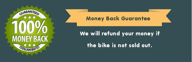 Money Back Guarantee from Bikes4Sale