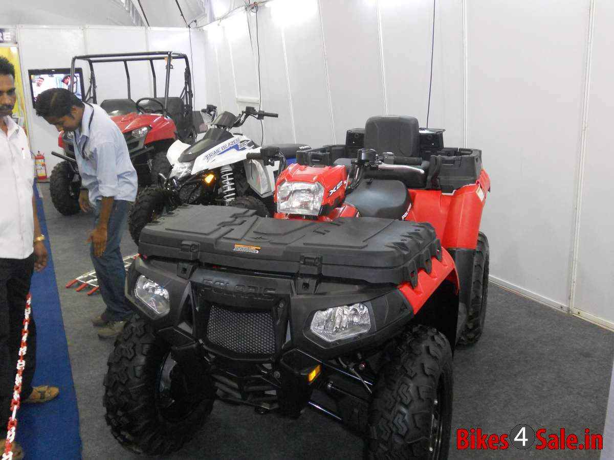 SBT Asianet Auto Expo 2013 Kochi - Polaris ATVs