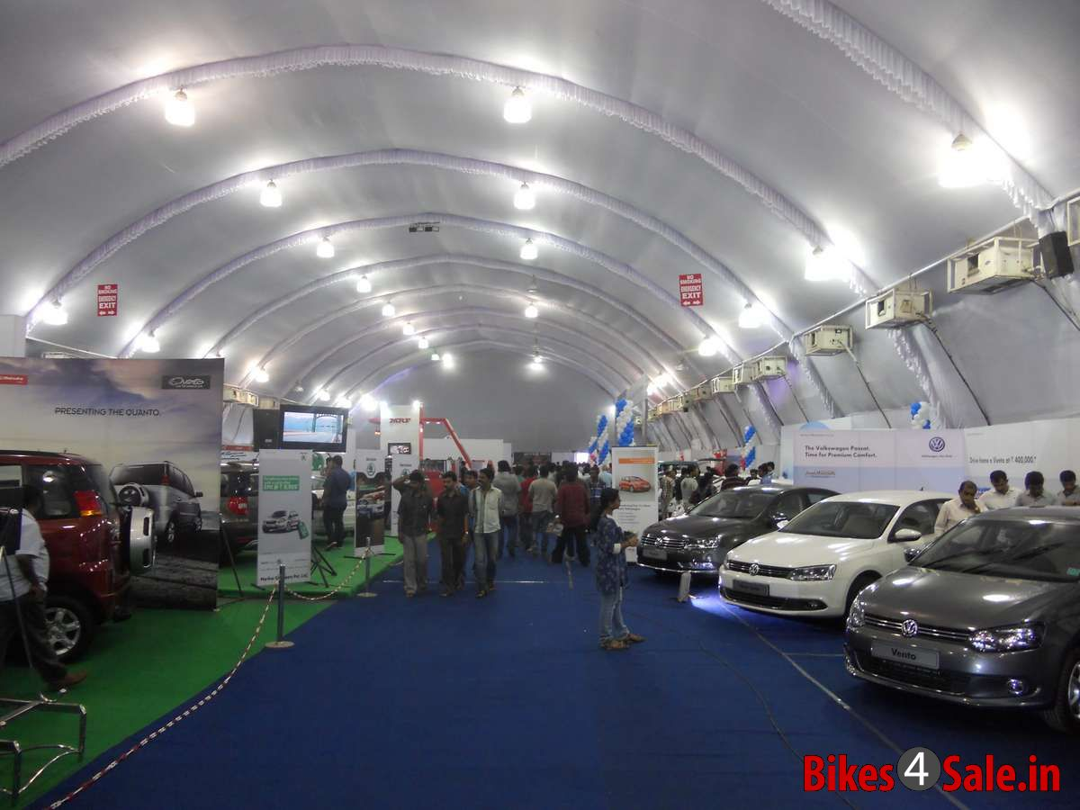 SBT Asianet Auto Expo 2013 Kochi - As vehicles are displayed