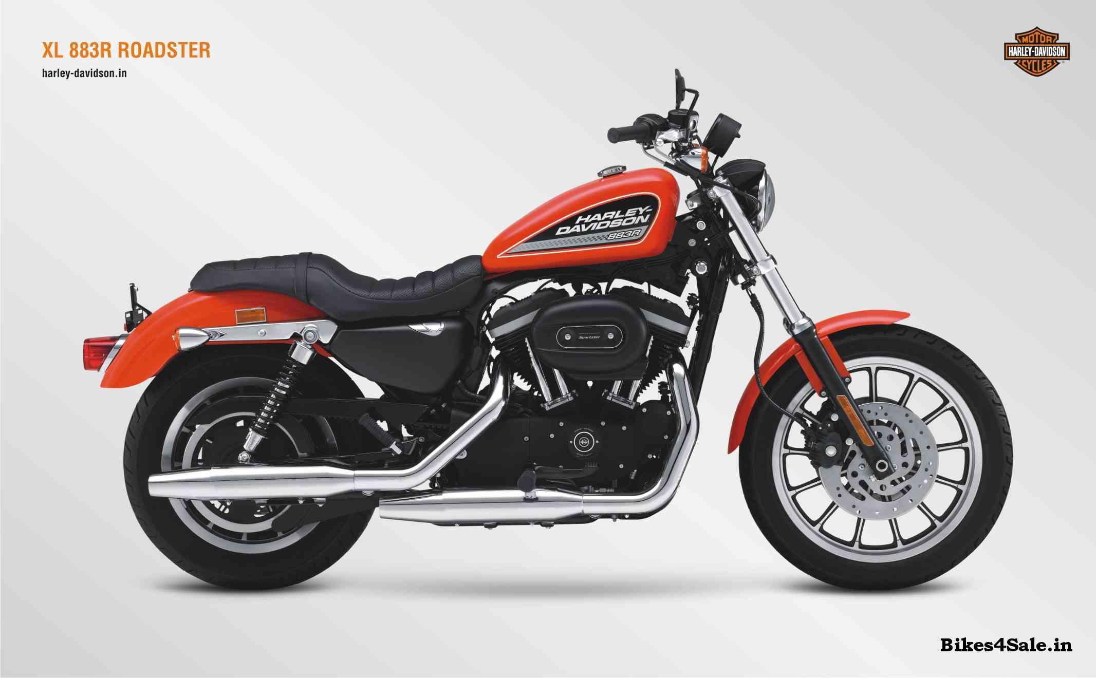 Harley Davidson XL 883R Roadster Photo