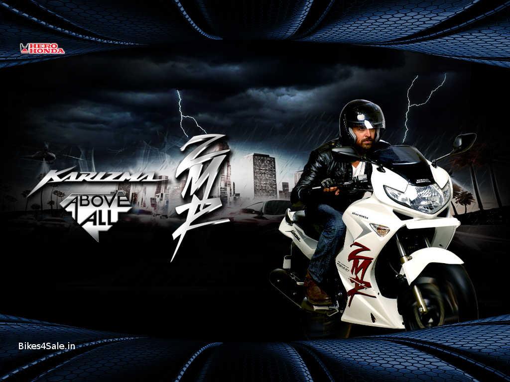 Hero Honda Karizma ZMR Wallpaper Hrithik Roshan