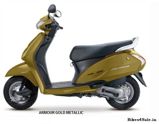 The new Honda Activa scooter Review - Bikes4Sale