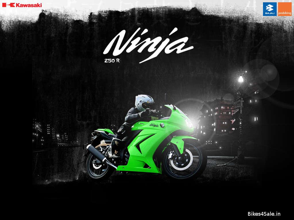 Bajaj kawasaki Ninja 250R Wallpaper