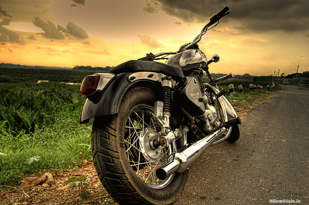 Modified Royal Enfield Bullet Machismo Wallpapers Bikes4sale