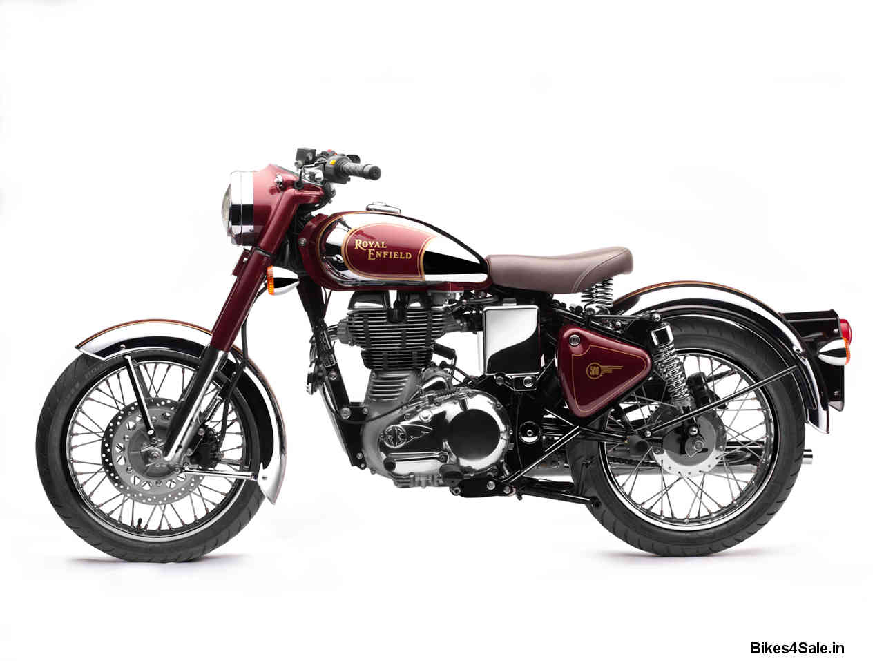 royal enfield bullet classic chrome 500 wallpapers bikes4sale. Black Bedroom Furniture Sets. Home Design Ideas