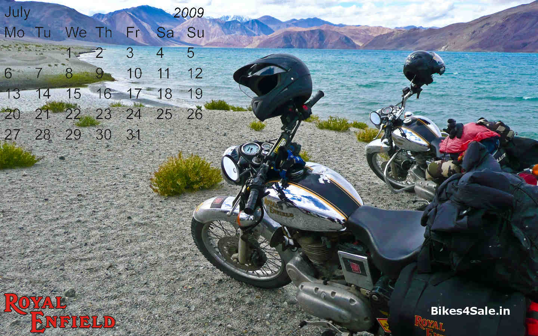 Royal Enfield Calendar 2009