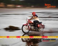 Royal Enfield Calendar 2009