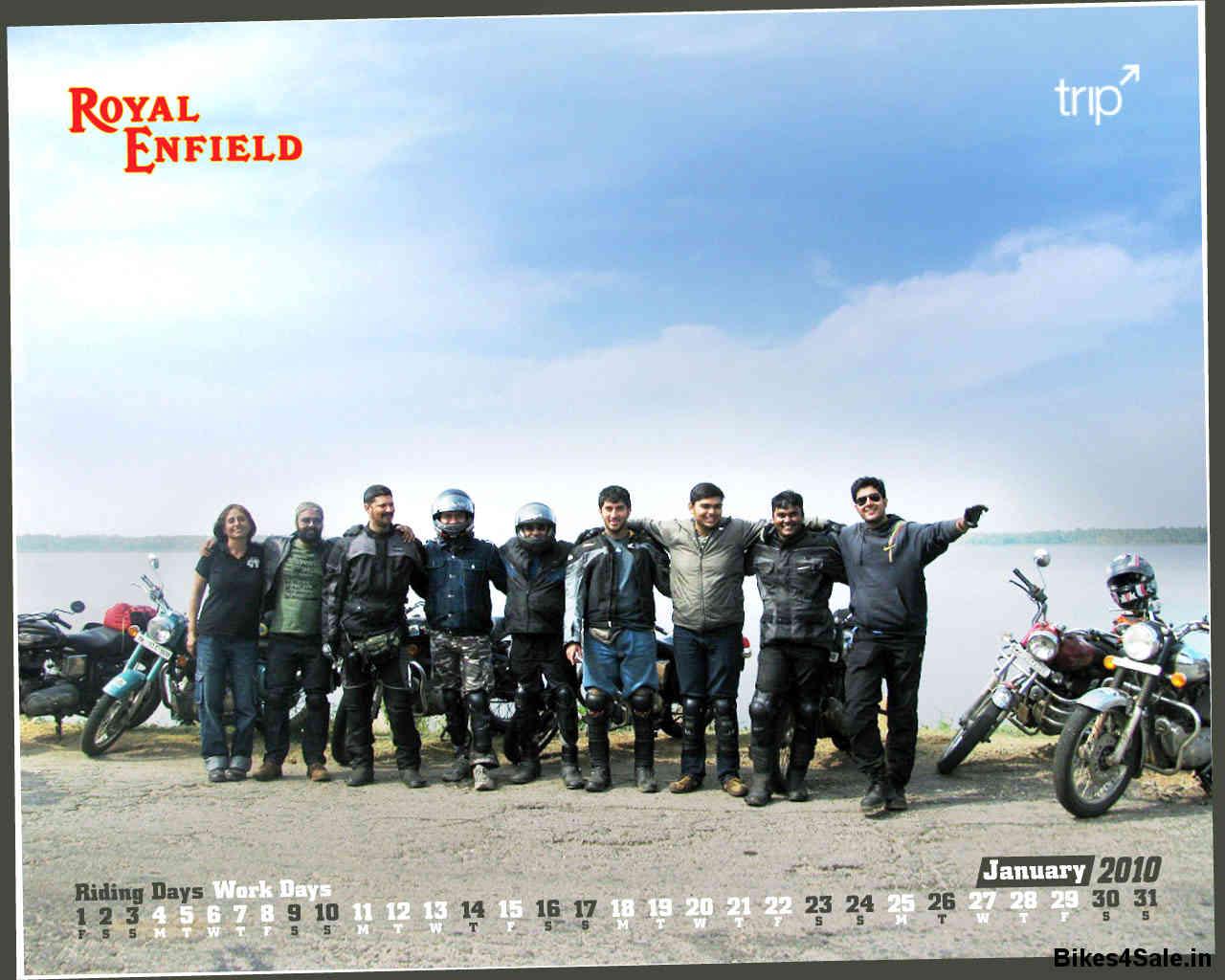 Royal Enfield Calendar 2010