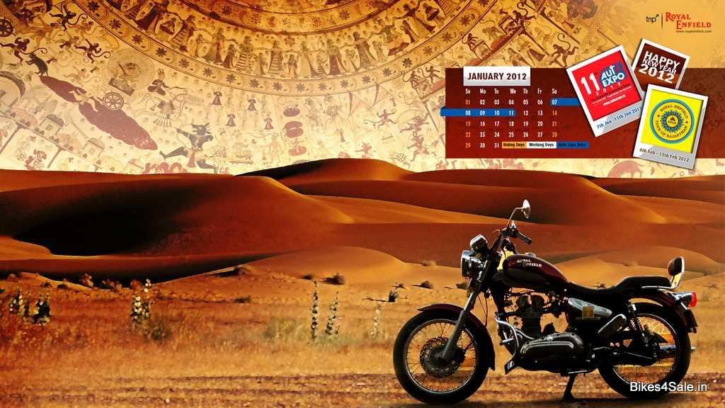Royal Enfield Calendar January 2012