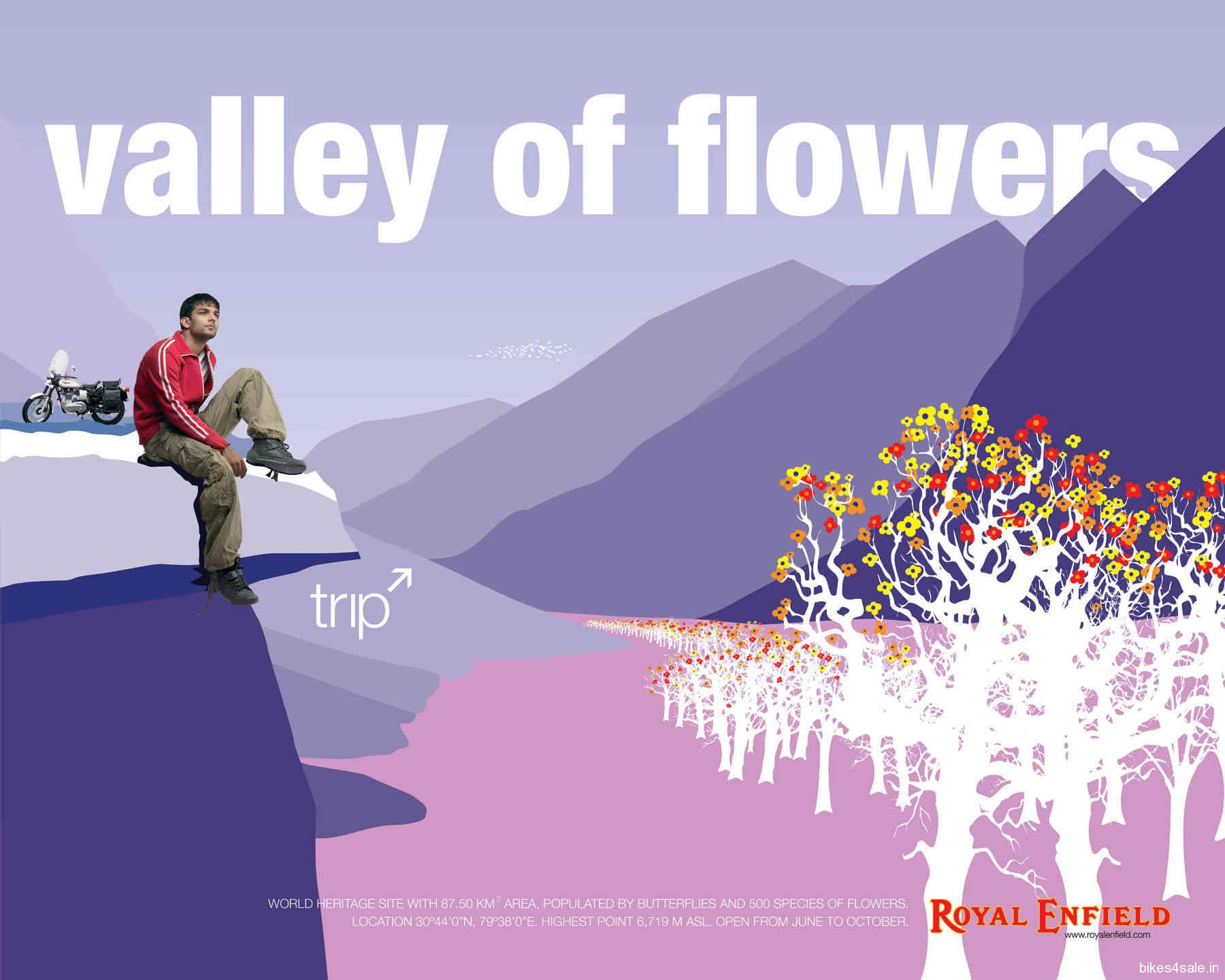Royal Enfield Trip Valley Of Flowers