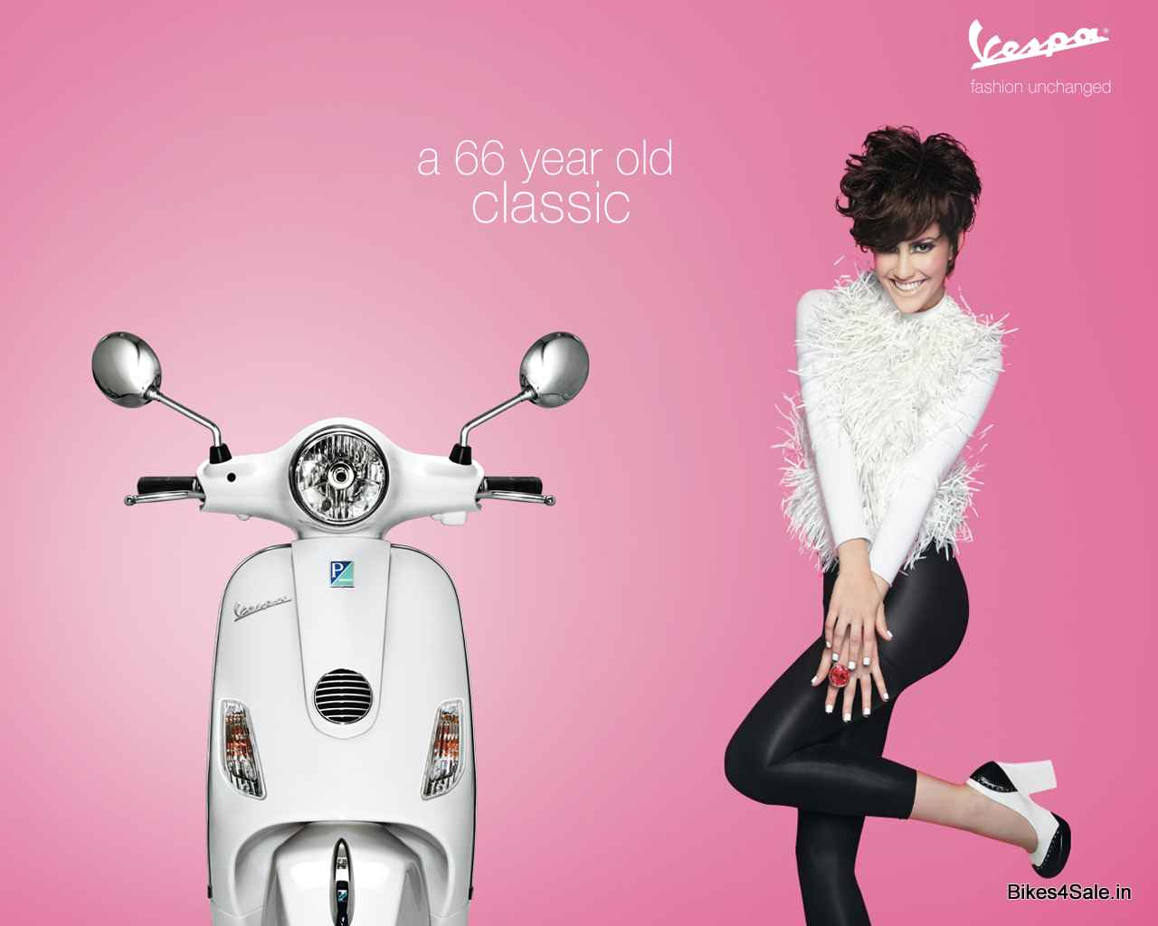 Vespa Scooter Wallpaper