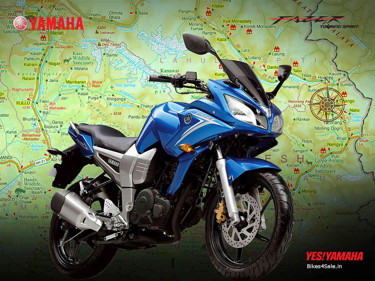 Yamaha fazer 150cc white
