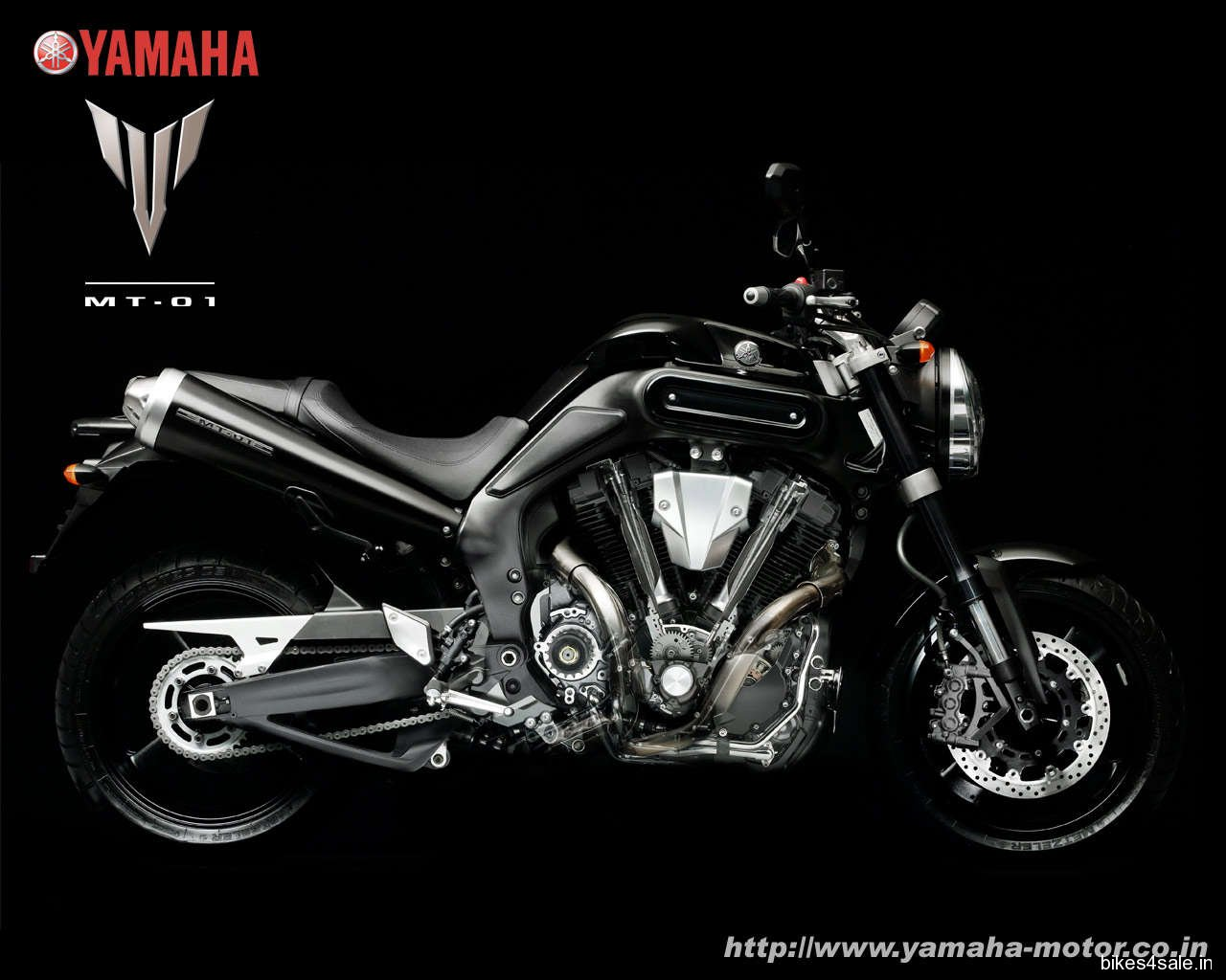 Wallpaper of Yamaha MT01