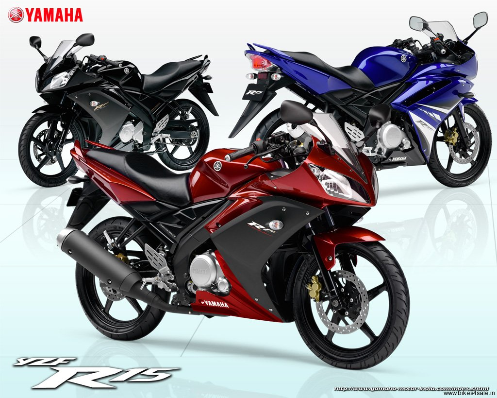 Yamaha YZF R15 Red