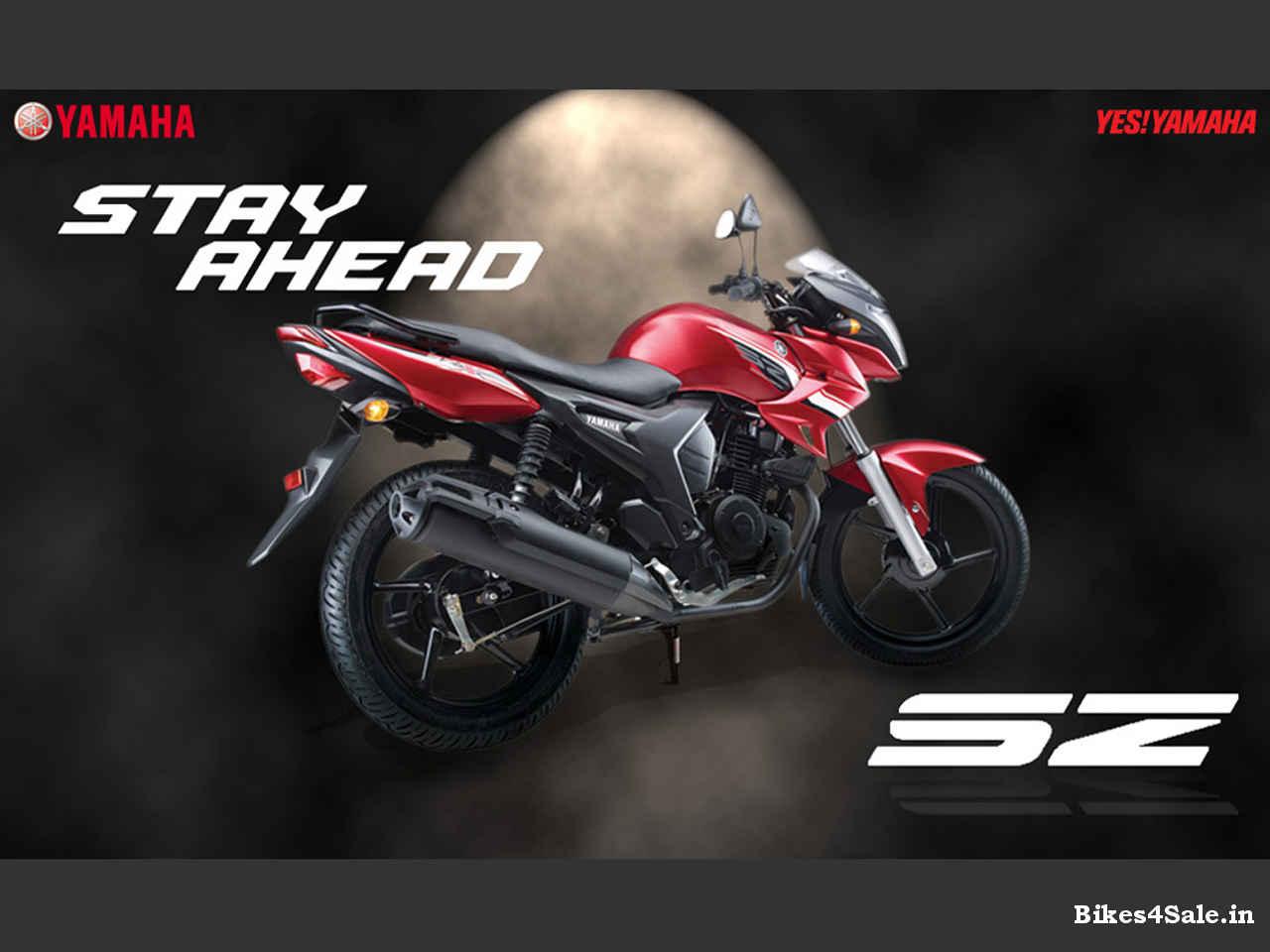 All New Yamaha Sz
